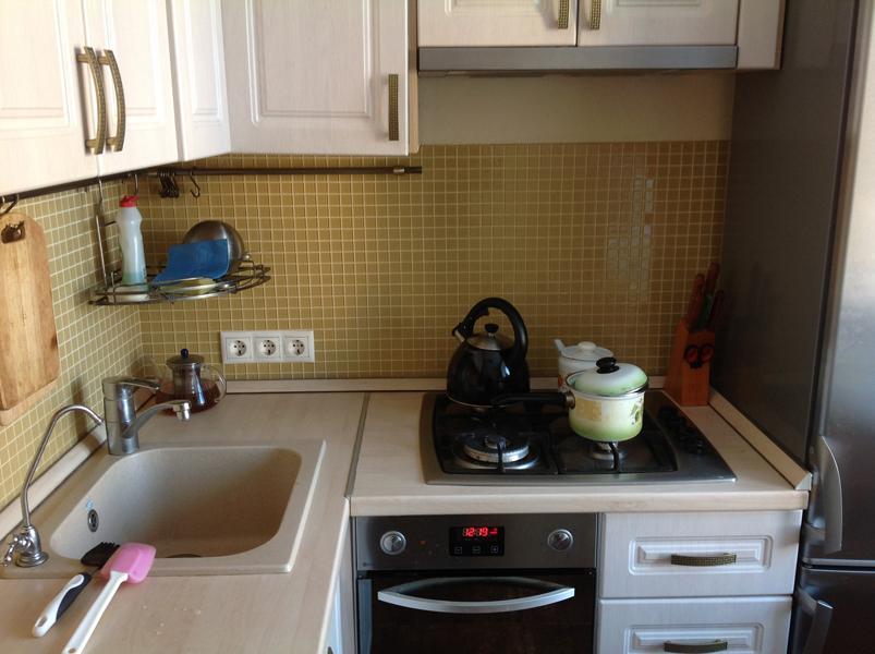 Ремонт в маленькой кухне 5 кв.м фото